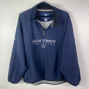 NFL Reebok Dallas Cowboys Equipment Blue Pullover